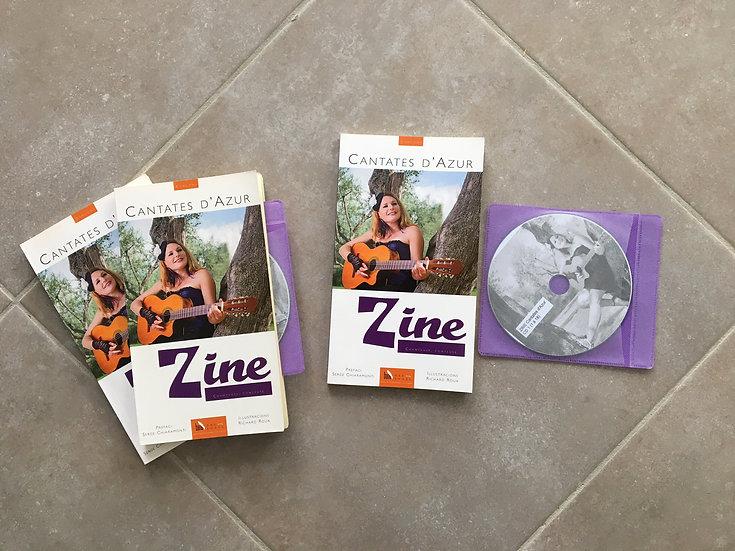 Cantates d'Azur - livre et double CD 27 titres