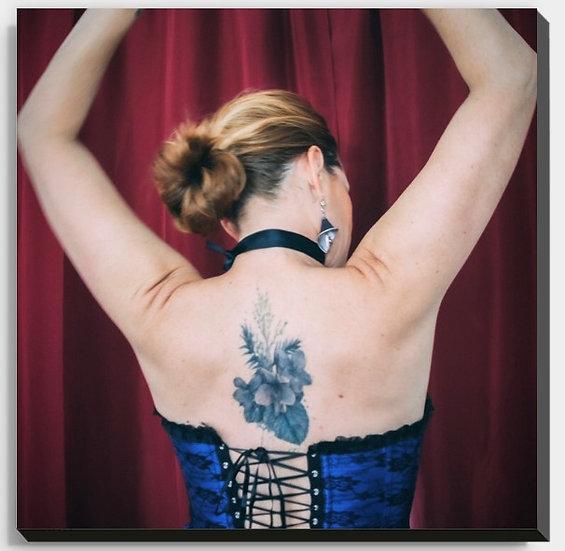 """Cadre """"ZINE tatoo"""""""