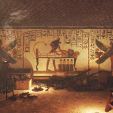 The tomb of Nefertari: 3d-reconstruction