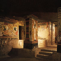 View of the Southeastern part of the Sarcophagus Chamber.