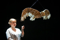 L'enfant Saltburn-95 Rebecca Madden & Owl Puppet