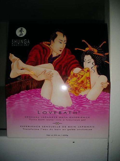Lovebath (bain de gelée)