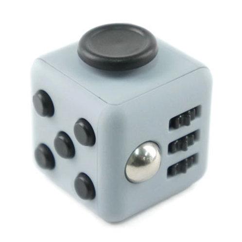 Fidget cube de couleur noir et rouge