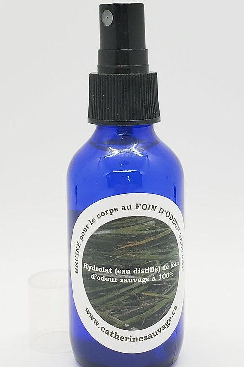 Hydrolat de foin d'odeur sauvage conçu par Catherine Sauvage