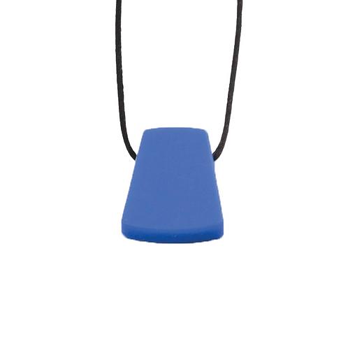 Pendentif Géo bleu machouillable