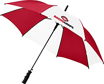 Red Branded Umbrellas