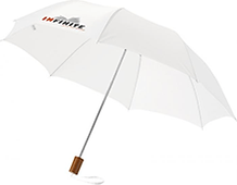 White Branded Umbrella