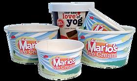 Custom Printed Ice Cream Tubs
