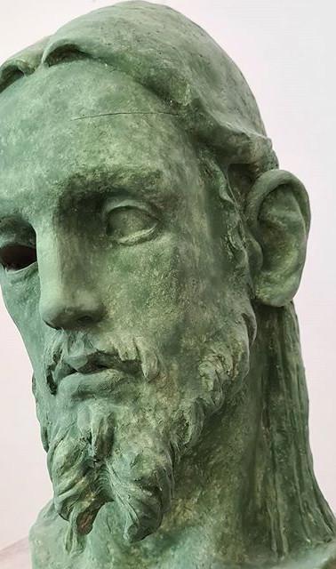2020  #sculpture #bust #beard #2020 #stu