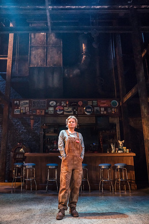 Martha Plimpton in Sweat at the Donmar W