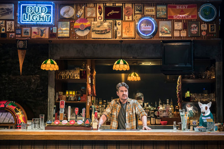 Stuart McQuarrie in Sweat at the Donmar
