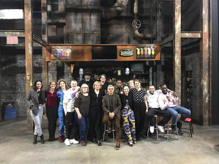 Cast + Company with Sadiq Khan
