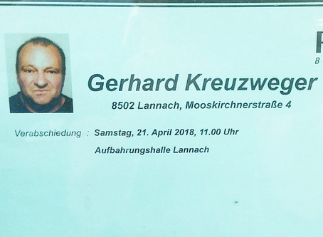Verabschiedung Gerhard Kreuzweger
