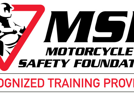 Motorcycle riding class.