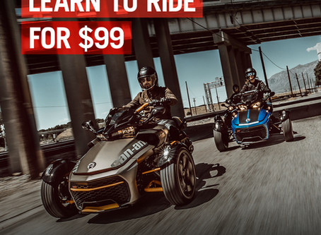 Get your motorcycle or trike license at Ride Safe USA!