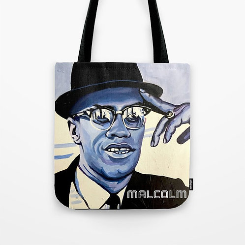 Malcolm's Reflection Painted Tote