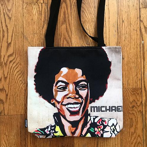 Retro MJ Painted Tote