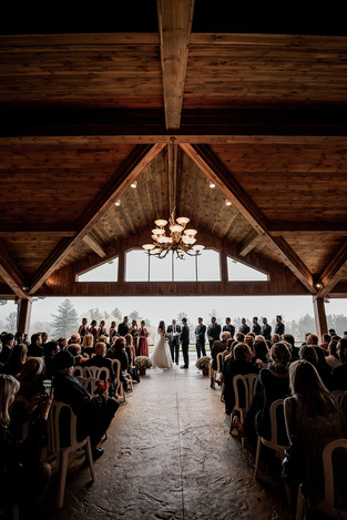 Monica and Zach's wedding at the Lake Placid Club in the Adirondacks
