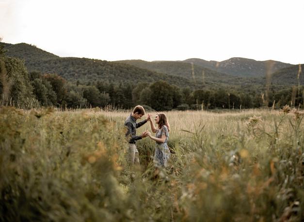 Engagement Photos | Lake Placid