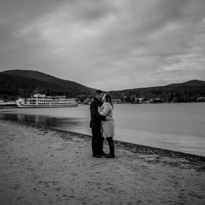 Beautful Couple on Lake George