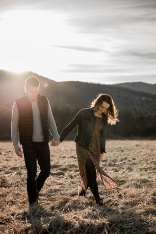 Emily and Josh engagement photo