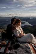 Mountaintop wedding pictures