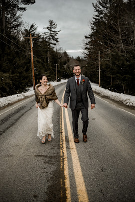 Elopement at Friends Lake Inn in Chestertown NY