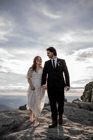 Kristen and Ryan's Whiteface Wedding