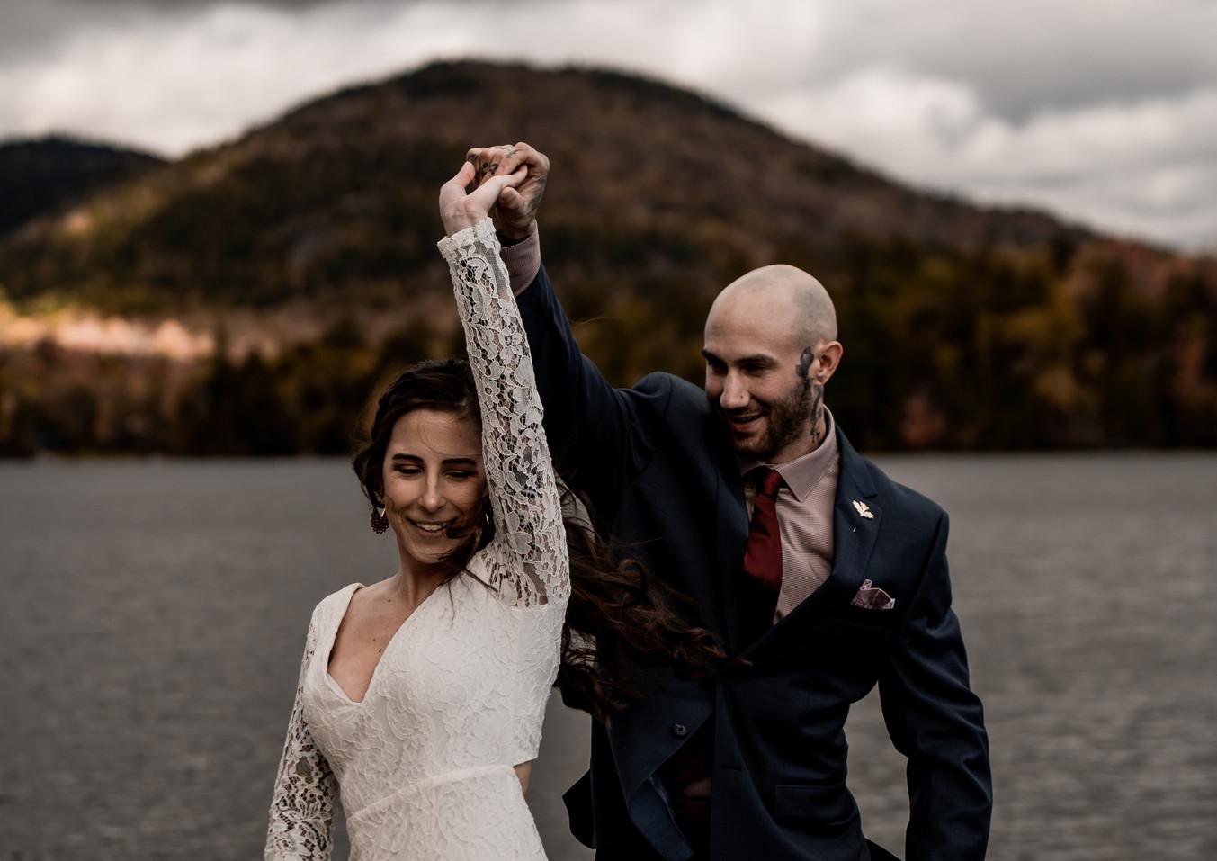Brendan and Samantha's wedding in Lake Placid, NY