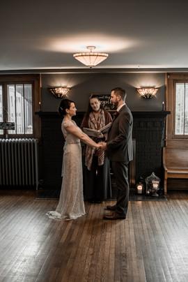Wedding photographers, The Pinckards, photo of Adirondack elopement