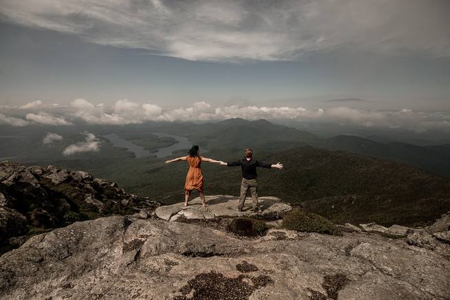 Whiteface Mountain, best place for engagement pictures in the Adirondacks