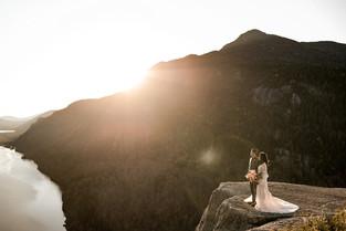 Indian Head elopement in the Adirondacks
