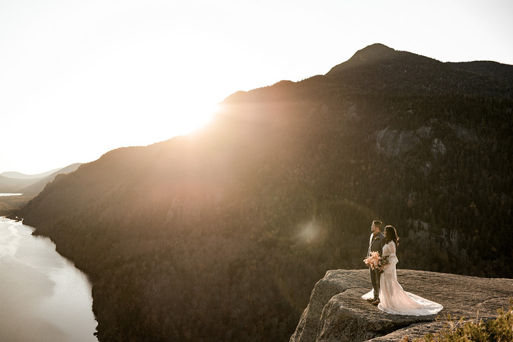 elopement photography in the ADKs