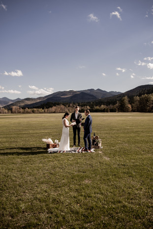 Emily and James' Keene Valley Elopement