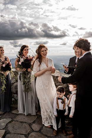 Adirondack mountaintop wedding at Whiteface Mountain in Wilmington