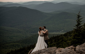 Crane mountain elopement photo