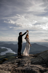 Wedding on top of a mountain