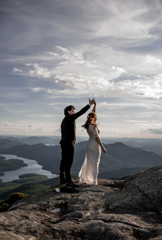 First Dance on Whiteface Mountain