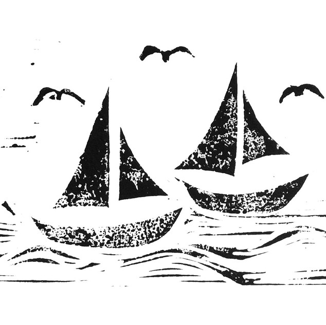 Boats and Gulls