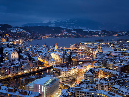Lucerne- a Swiss dream in the heart of the winter