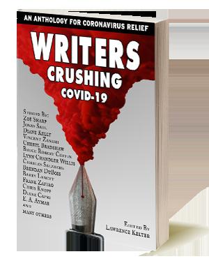 Writers Crushing COVID-19 anthology book
