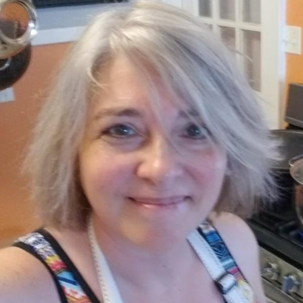 My gray hair selfie