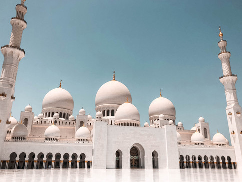 GRAND MOSQUE- ABU DHABI