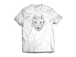 wolf logo tee