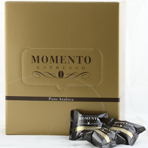 Our Momento pods Puro Arabica, 100 Pods $0.69 each