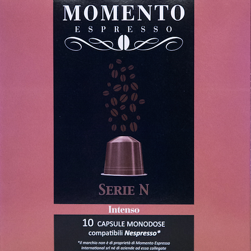 Intenso Serie N Compatible Nespresso 10 Pods
