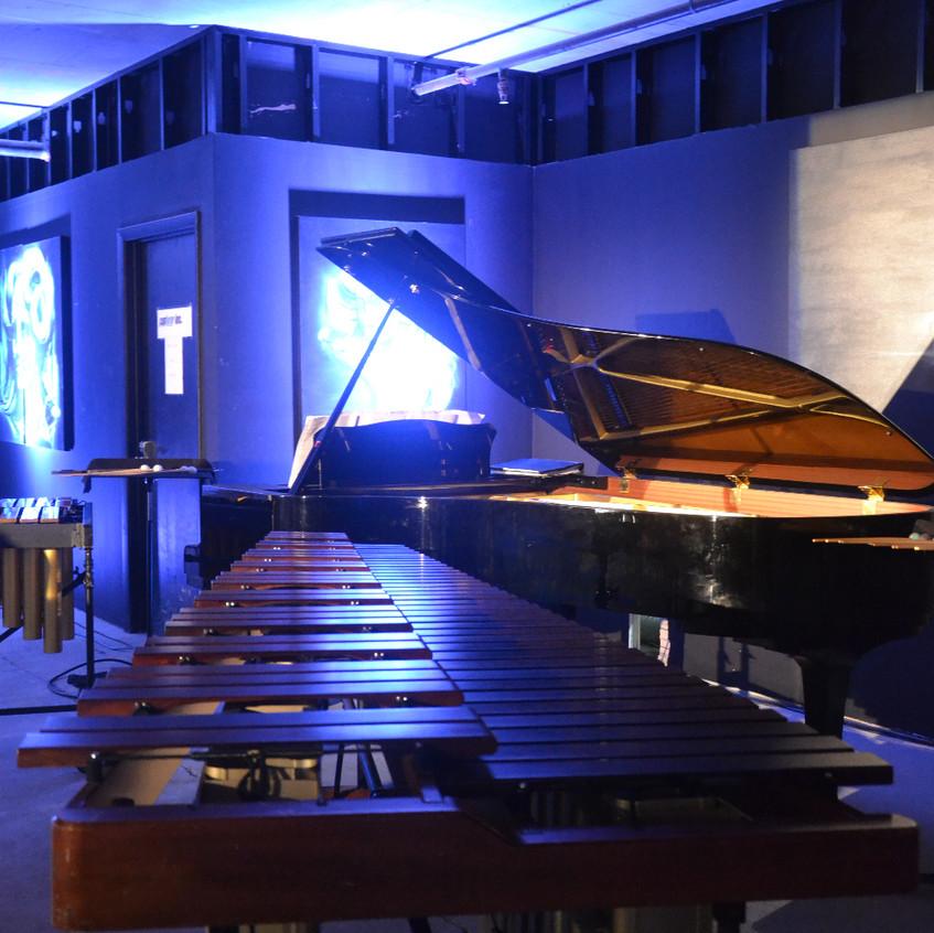 GrandArt's Art Basel show with Art, Music and Momento Espresso