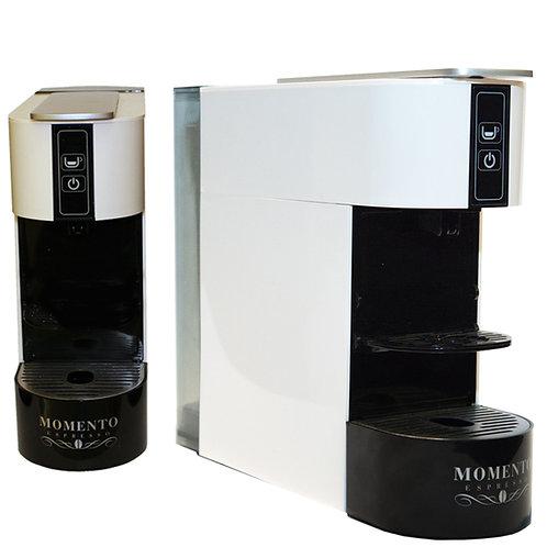Slim Espresso machine white