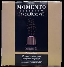 Nespresso compatible capsules Puro Arabica, free delivery Miami