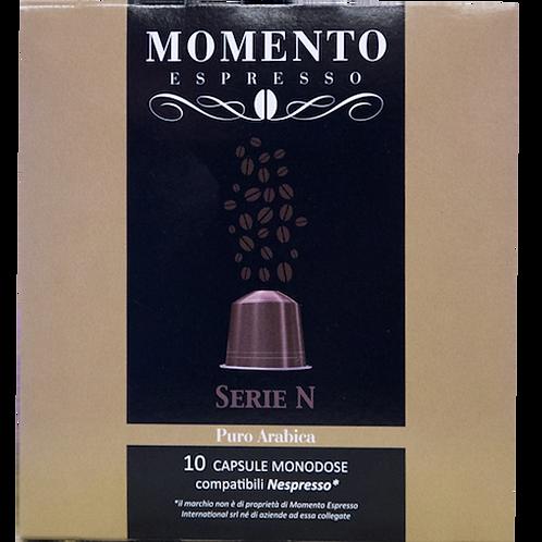 80 Nespresso compatible pods Puro Arabica